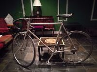 Vintage bike. Large frame. it rides smooth. Perfect for Eroica race.