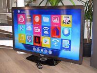 """Philips 46PFL7605H 46"""" Ambilight Full HD 1080p LED TV / 4x HDMI/ USB + Smart TV Box (Wi-Fi)"""