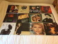21 No Vinyl Albums Singles Job Lot Bundle ABBA Grease Stansfield Soundtracks Compilations