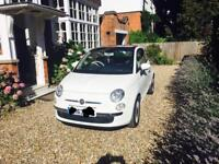 Fiat 500 Lounge Rhd with Pan roof and less than 10k on the clock