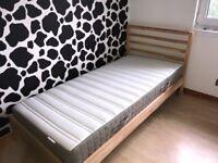 Ikea TARVA single bed (mattress included)