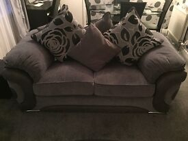 Sofa Two seater with chair 11 Months old as new