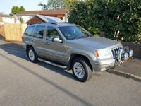 Jeep grand cherokee limited edition 2.7crd