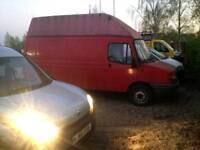 Ldv 400 convoy hi top swb 2.5d banana transit engine 34k low mileage camper project