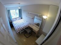 single room in a flat share, living room, large kitchen and garden.