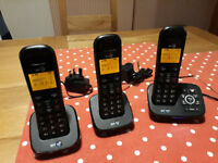 Triple Digital Cordless Phone with Answer Machine
