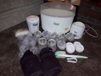 tommee tippee complete starter kit **bargain as most items brand new**