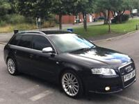 2007 AUDI A4 S-LINE ESTATE 170BHP TOP SPEC DIESEL BARGAIN!!