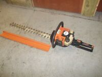 """STIHL HS80 DOUBLE SIDED PETROL HEDGE CUTTER. 28"""" CUTTING BLADE."""