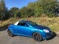 VAUXHALL TIGRA 1.4 EXCLUSIVE CONVERTIBLE 57 REG FAULTY ROOF MOT MARCH 15TH 2022 LOW INSURANCE 45+MPG