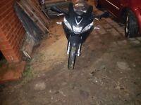 125 aprilia bike