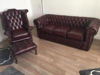 Chesterfield new leather
