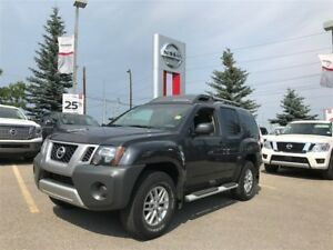 2015 Nissan Xterra S 4WD ONE OWNER!