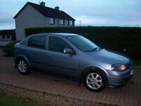 Mar 2004 Vauxhall Astra ACTIVE