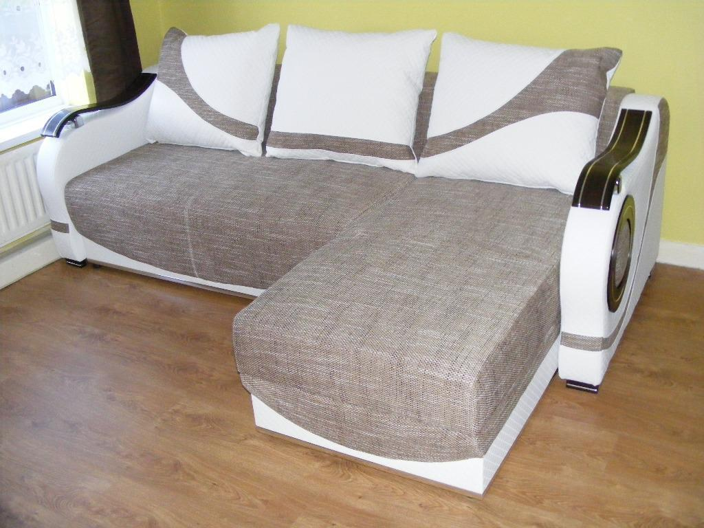 SOFA BED WITH STORAGE IN EXCELLENT CONDITION | in Middlesbrough, North