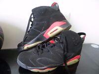 Nike Air Jordan Retro 6 Infrared Slam 2014, size 11 UK