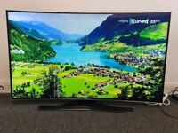 Samsung Curved 55 Inch 4K Ultra HD Smart LED TV (Model UE55HU8200)!!!