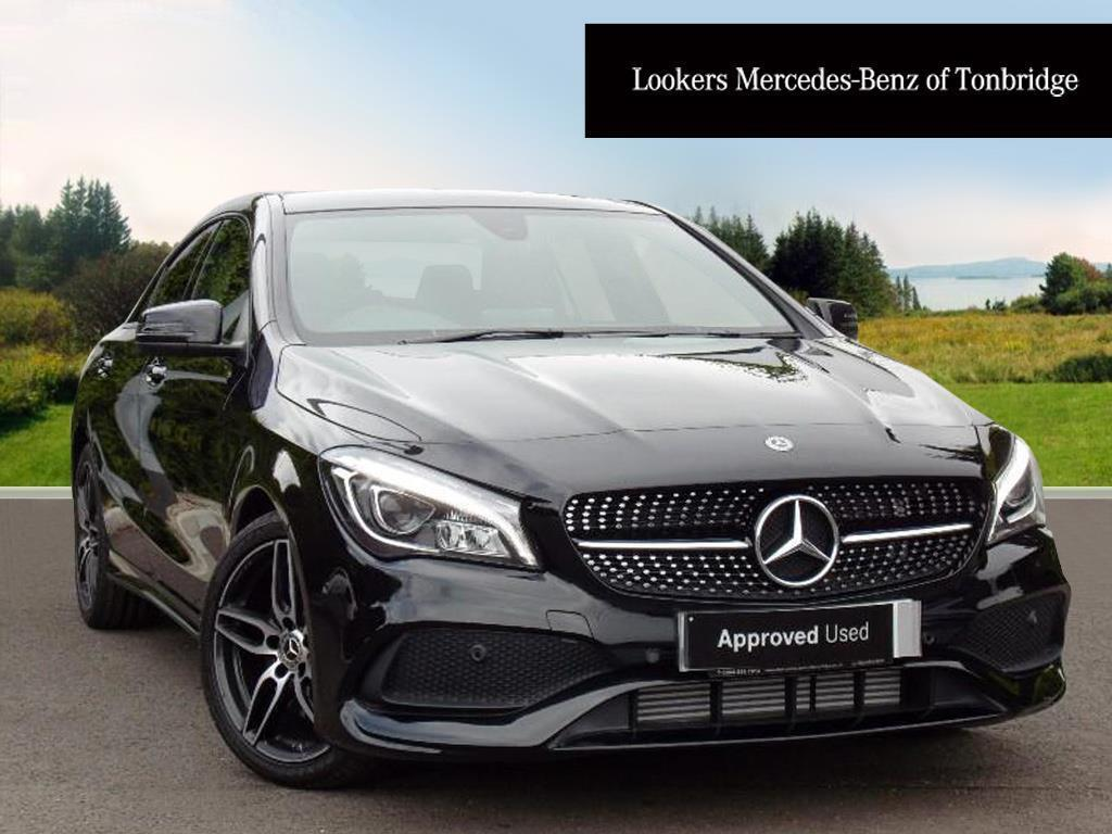 mercedes benz cla cla 220 d amg line black 2017 07 17 in tonbridge kent gumtree. Black Bedroom Furniture Sets. Home Design Ideas