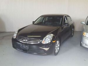 2005 Infiniti G35X All wheel drive, Accident Free