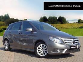 Mercedes-Benz B Class B180 CDI BLUEEFFICIENCY SE (grey) 2014-06-03