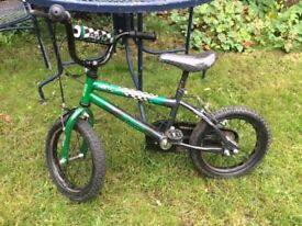 Boys bike (16 inch wheels) (4-6 years)