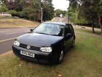 VW GOLF GT TDi **6 SPEED DIESEL 130 BHP** £895