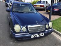 Mercedes Benz e230 automatic transmission 1997 facelift model 4 door saloon mot December taxed