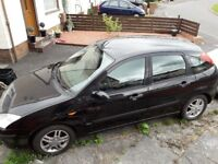 BLACK FORD FOCUS FOR SPARES OR REPAIR