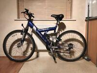 Apollo Excel Ladies Full Suspension 21-Speed Mountain Bike