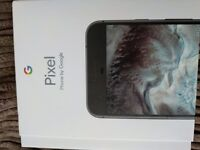 Brand new Google pixel phone and dreamday VR 32 GB on eelll