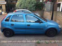 "Vauxhall Corsa for SALE £550 ""No time wasters please"" MOT expires 2017 May"