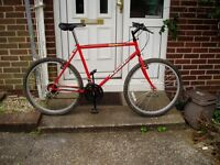 """Mountain Bike, 21"""" Frame, 26"""" Alloy Wheels, JUST BEEN CYCLE SHOP SERVICED."""