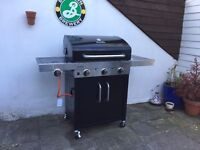 Char-Broil 3 Burner Tru Infrared Gas BBQ with Cover