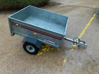 ERDE 121 BOX TRAILER - IDEAL FOR TIP RUNS AND CAMPING - LOVELY CONDITION