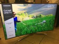 "Samsung 55"" curved 4k ultraHD LED TV"