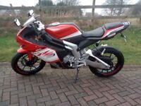 Rieju RS3 125 (NOT YZF-R 125,RS4,CBR 125,Aprilia 125,Derbi,Yamaha 125)