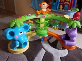 Fisher Price Crawl and Cruise Musical Jungle