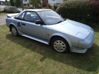TOYOTA MR2 MK1 1989 BLUE COUPE - Good example of a reliable brand