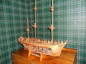 Build the HMS Bounty model ship