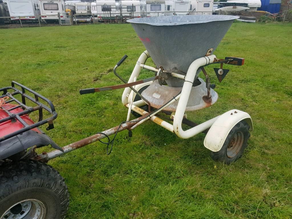 Quad atv compact tractor 4x4 towable salt fertiliser spreader | in  Motherwell, North Lanarkshire | Gumtree