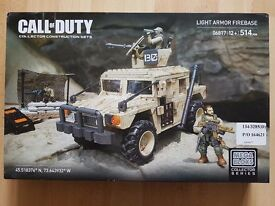 Mega Bloks Call of Duty Collector Construction Set - Light Armour Firebase - NEW, SEALED
