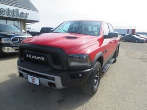 2015 RAM 1500 RAM REBEL RAM BOXES!! SUNROOF!! EXTENDED WARRANTY!