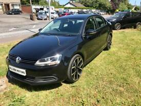 VOLKSWAGEN JETTA 1.6 TDI DIESEL, 2012, NEW 19 INCH ALLOYS **FINANCE FROM £40 A WEEK**