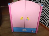 Baby Born Wardrobe, Suitcase and Clothes