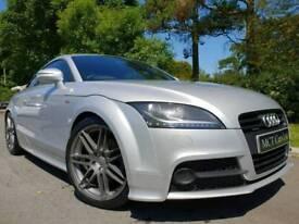 Sep 2012 Audi TT S Line Black Edition Quattro 2.0 Tdi 170bhp, Xenons, Bose Sound, FSH, Stunning Car!