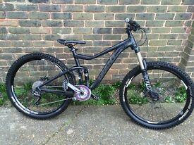 Giant trance 27.5 650b 2014 mountain bike, downhill bike, trail bike