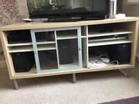 Ikea cabinet with storage for books etc