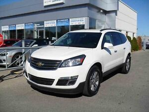 2015 Chevrolet TRAVERSE LT AWD/CAMERA DE RECULE/SIEGES CHAUFFANT