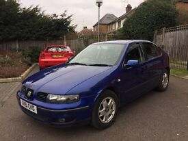 SEAT LEON 1.9 TDI SE BLUE 5 SPEED MANUAL