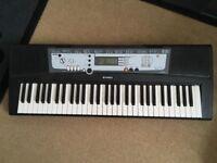 Yamaha Electronic Keyboard. PSR E213
